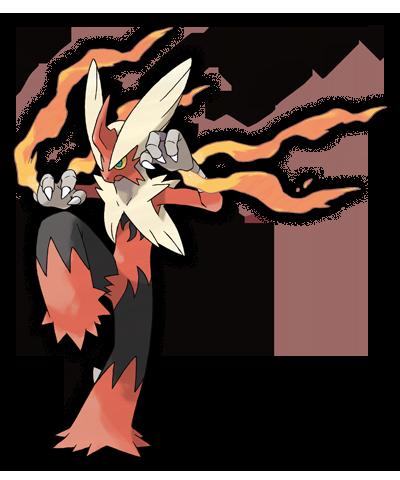 Pokemon Rubi Omega Zafiro Mega Blaziken 00