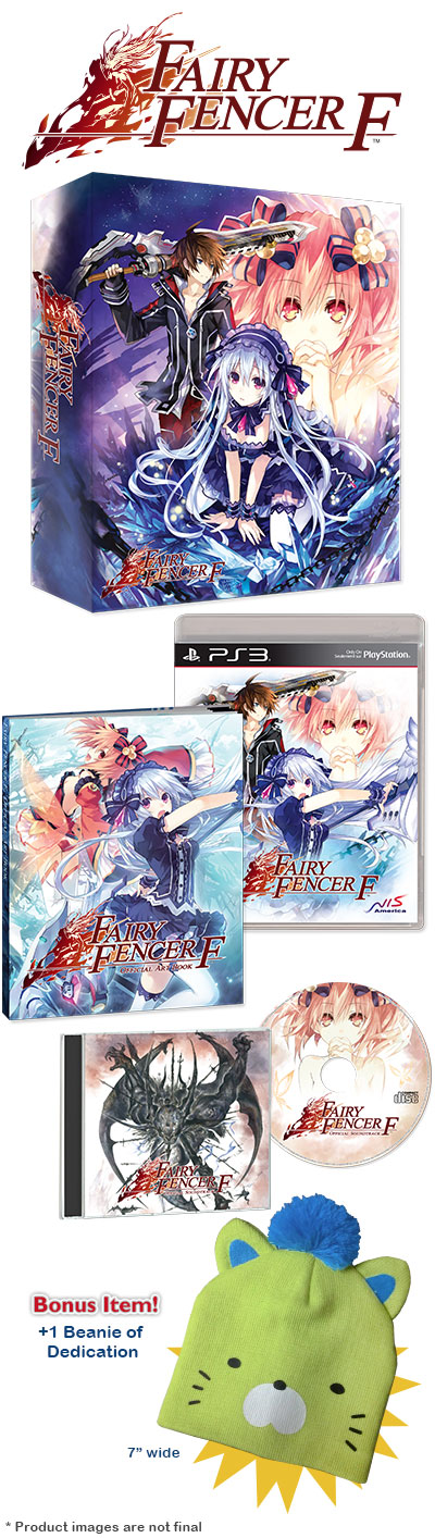 fairy fencer f edicion limitada