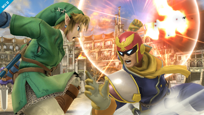 Captain Falcon Smash Bros 3DS Wii U 01