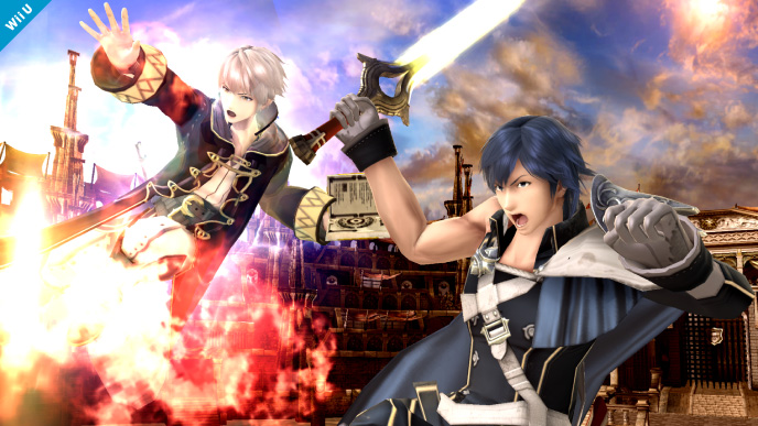 Daraen Smash Bros 06 ¿Por qué Chrom no es jugable en Super Smash Bros.?