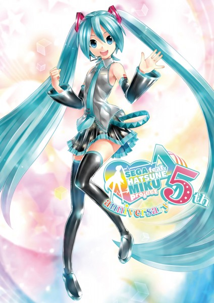 Hatsune Miku 5 aniversario sega