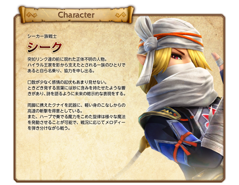 Sheik Hyrule Warriors 00