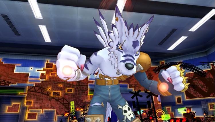 Weregarurumon Digimon Story Cyber Sleuth 01