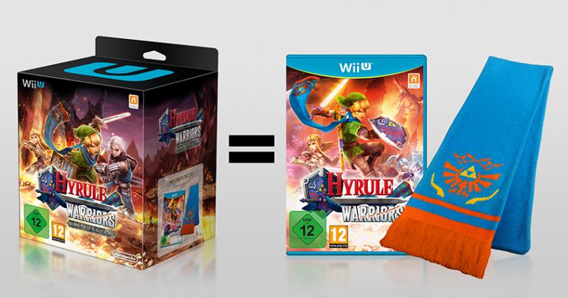 Hyrule Warriors Edicion Limitada