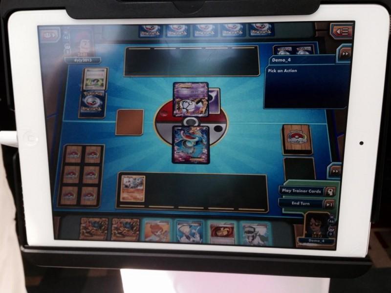 Juego de Cartas  Pokemon ipad