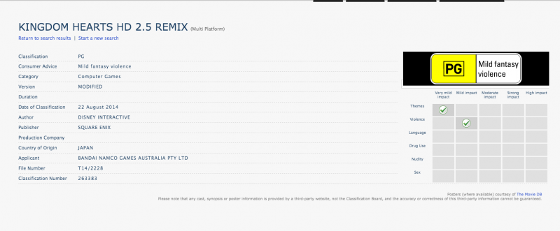 Kingdom Hearts HD 2 5 ReMIX version modificada