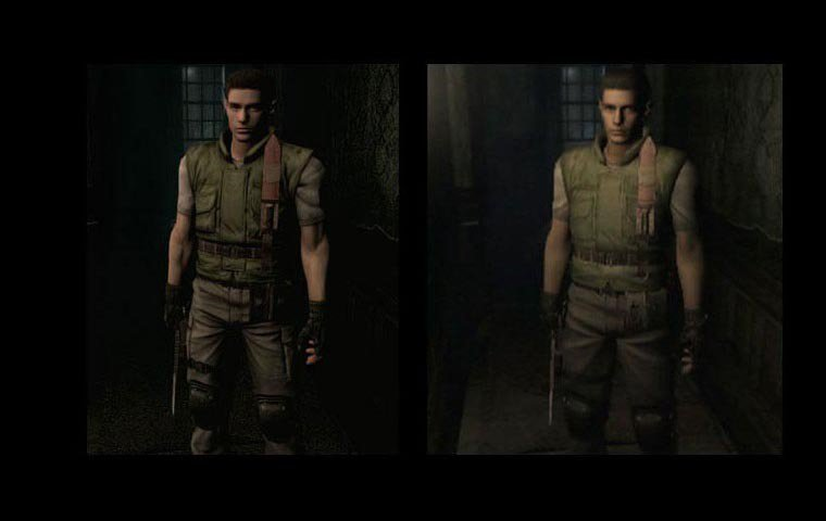 Resident Evil HD comparativa 01