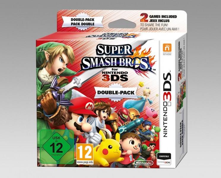Super Smash Bros 3DS pack doble