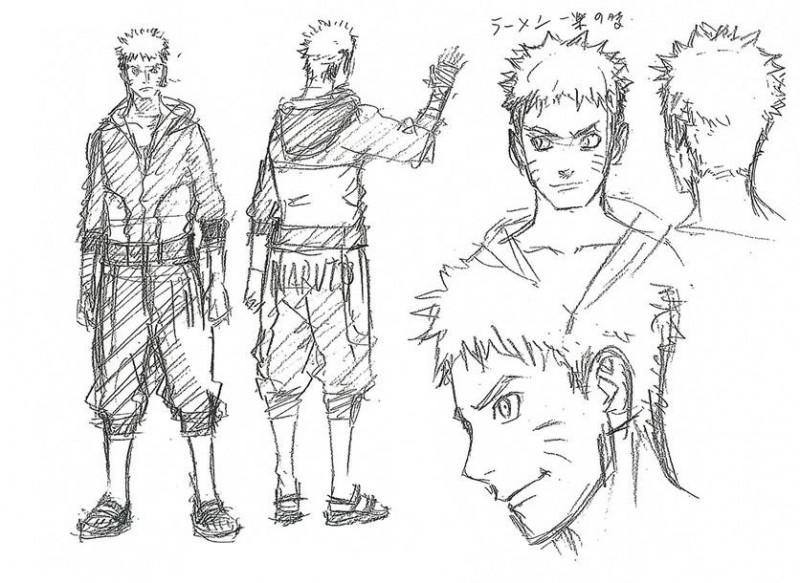 The Last Naruto The Movie Sketch