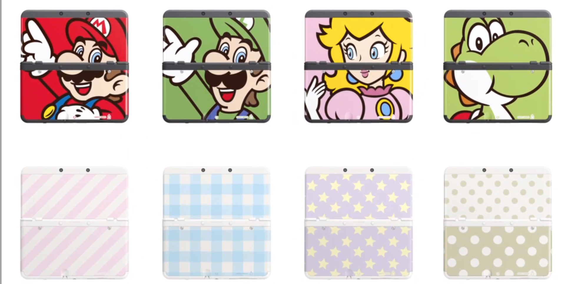 new 3ds carcasas