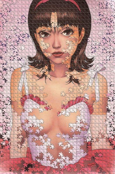 perfect blue puzle arte