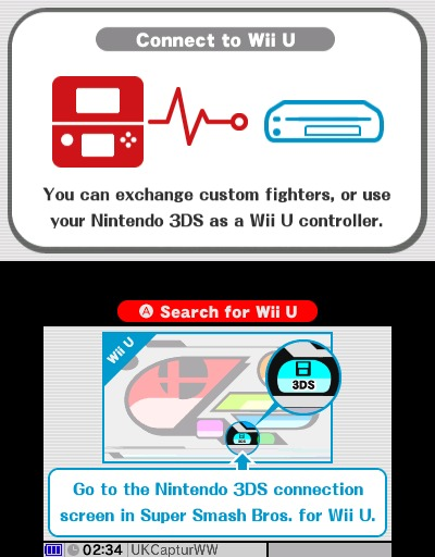 3DS mando super smash bros wii u