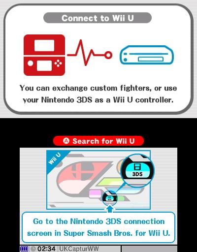 3DS mando super smash bros wii u
