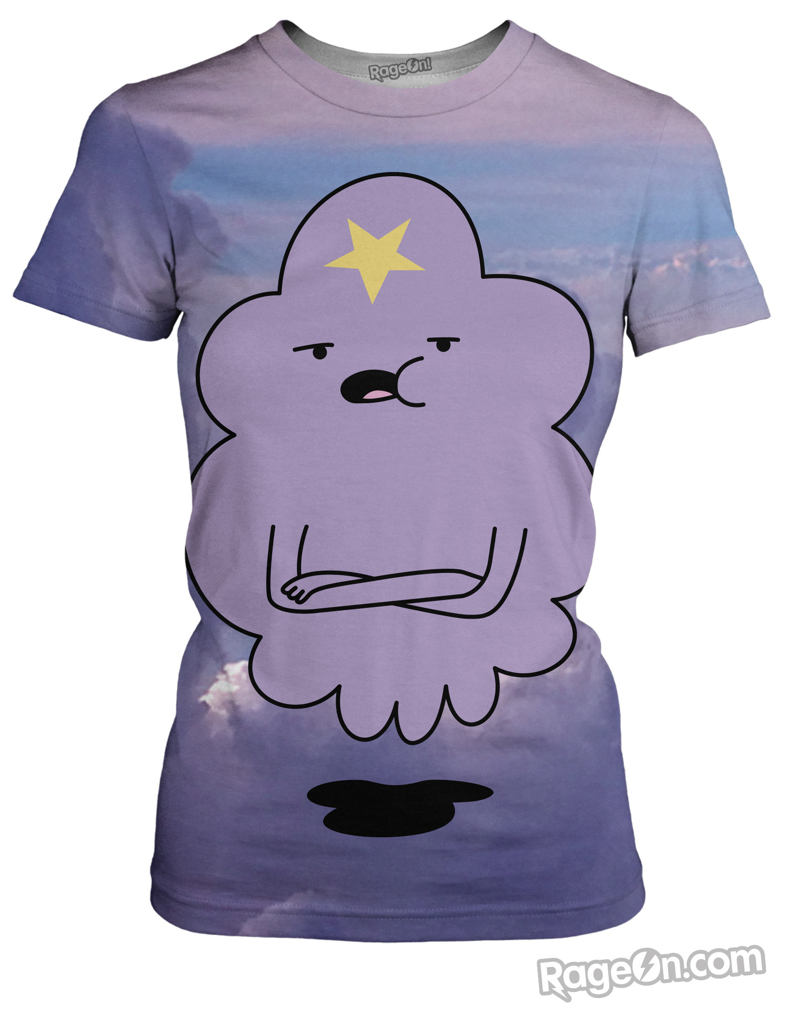 Lumpy_Space_Princess_Women_s_Slim_Fit_T_Mockup