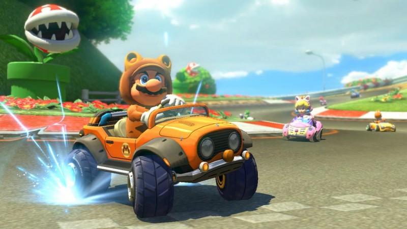 Kart Tanuki Mario Kart 8