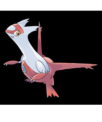 Latias Pokemon Rubi Omega Zafiro Alfa 00