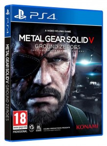 MGSV Ground Zeroes PS4 PAL