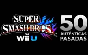 'Super Smash Bros. Wii U: 50 auténticas pasadas', una presentación online para el 24 de octubre