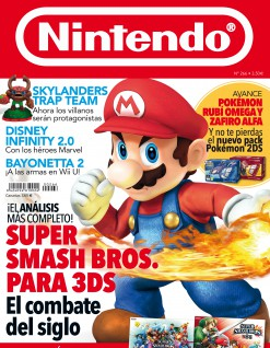 Revista Nintendo codigo demo pokemon
