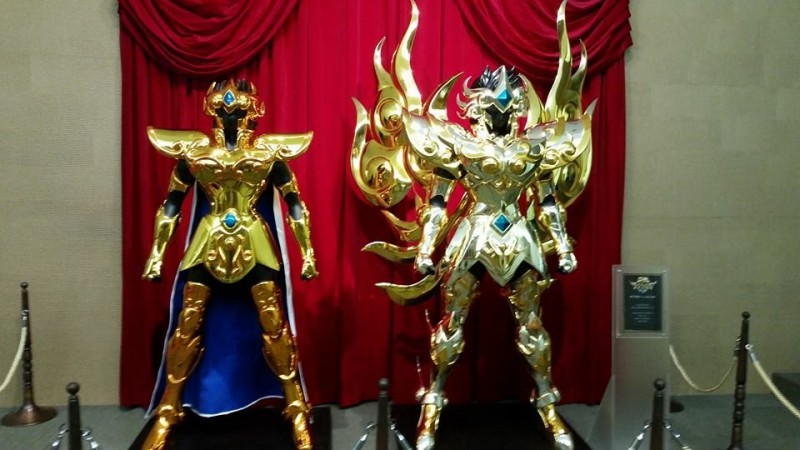 Saint Seiya Soul of Gold Aioros Leo tamaño real