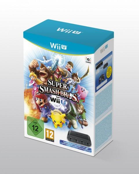 Super Smash Bros Wii U mando gamecube