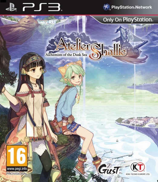 Atelier Shallie pal cover