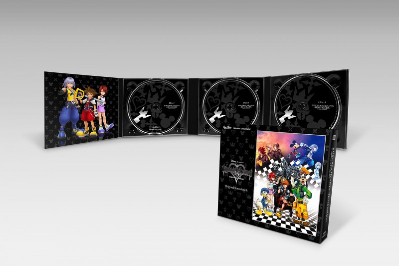 KINGDOM HEARTS 1 5 2 5 HD ReMIX Original Soundtrack BOX SET 04