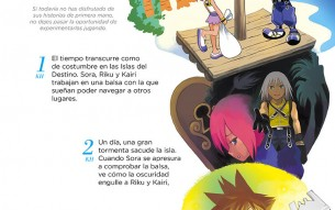 La historia de 'Kingdom Hearts' resumida a color por Shiro Amano
