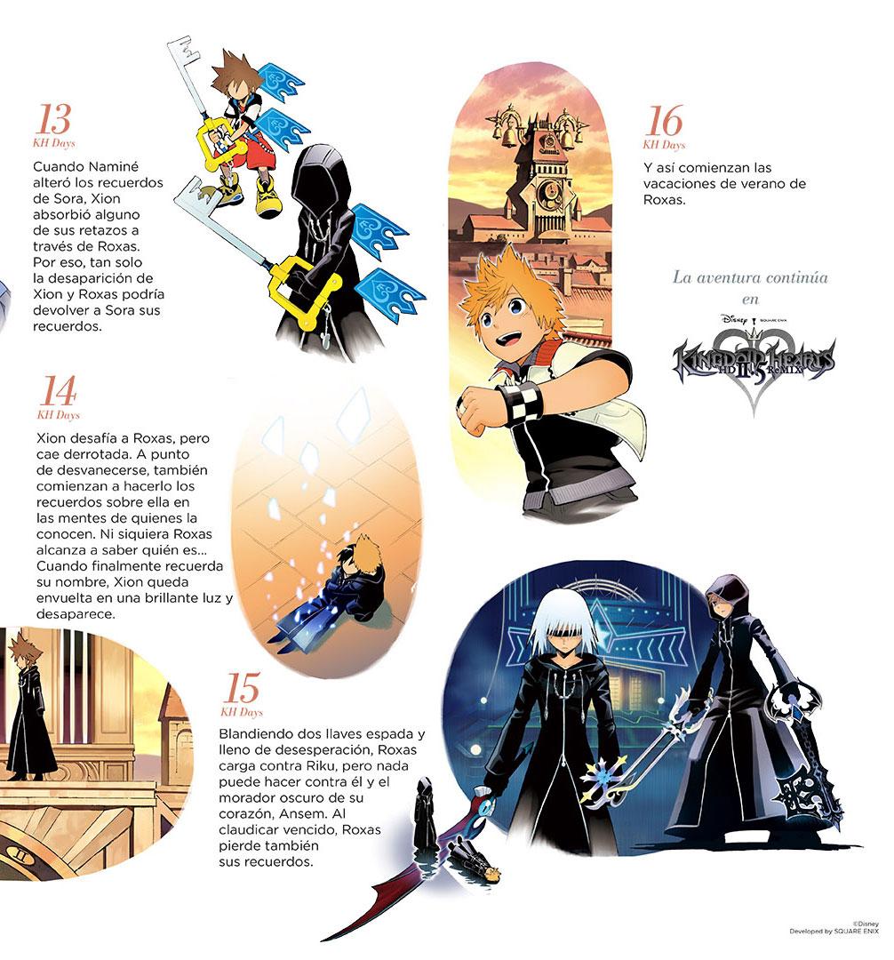 Historia De 'Kingdom Hearts' Resumida A Color Por Shiro Amano