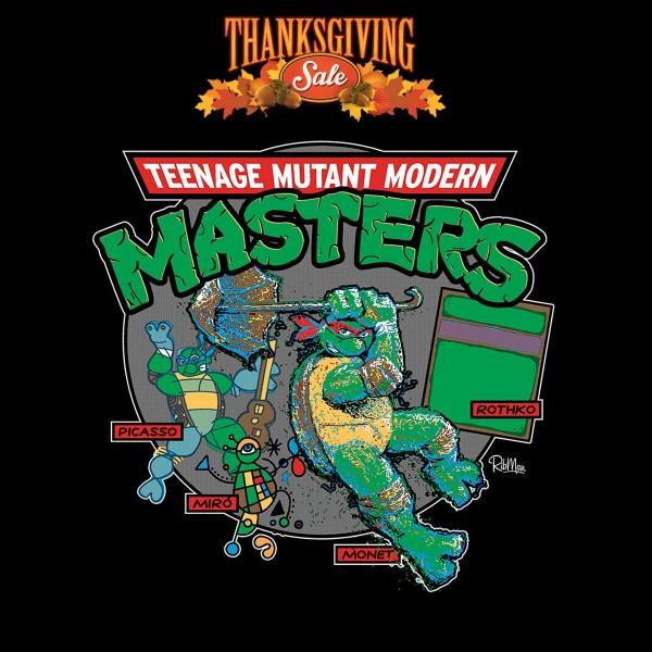 Teenage Mutant Ninja Masters