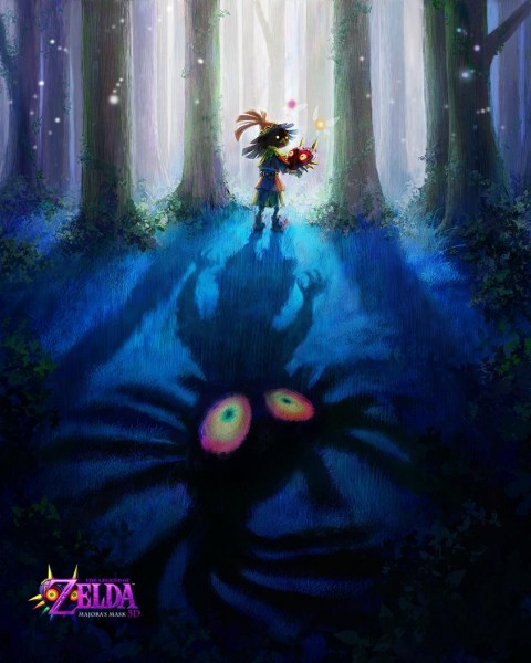 The Legend of Zelda Majoras Mask 3D remake 3DS