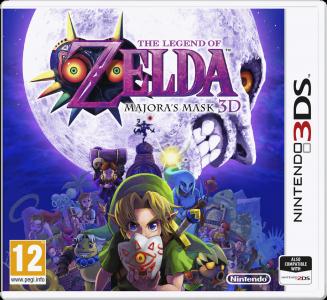 The Legend of Zelda Majoras Mask 3DS PAL Cover