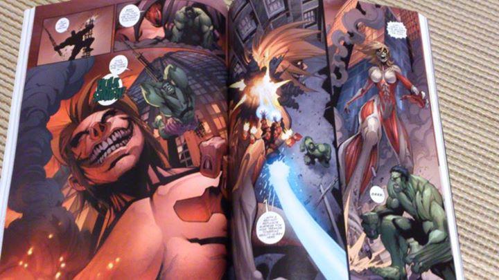ataque titanes marvel