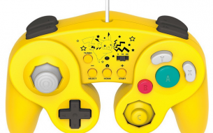 Pikachu tiene su propio mando de GameCube para Wii U