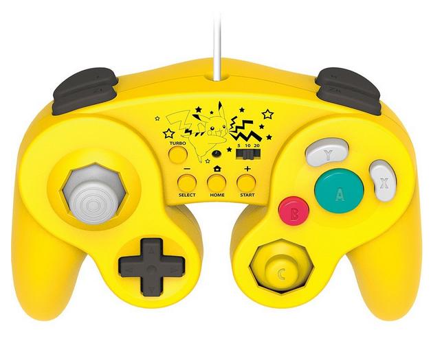 mando gamecube wii u pikachu