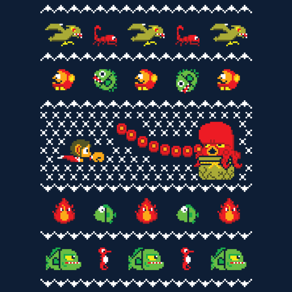 Alex Kidd in Christmas World