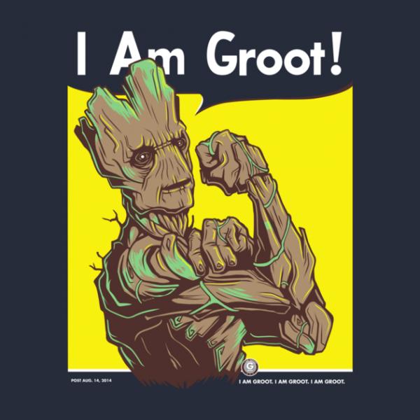 I Am Groot feminista