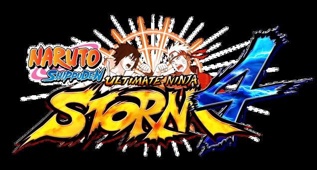 Naruto Shippuden Ultimate Ninja Storm 4 logo