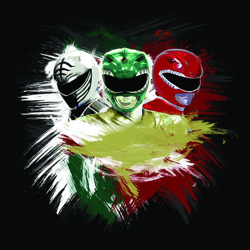 White Green Red Rangers