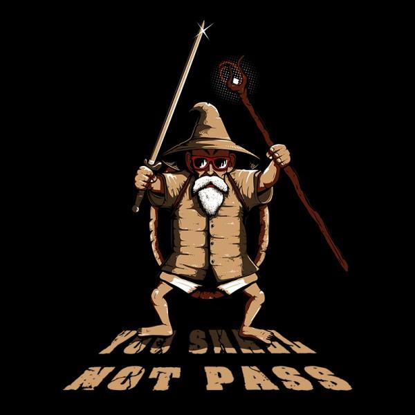 You Shall not Pass mutenroshi