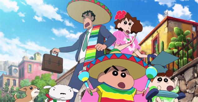 shin chan mexico Shin Chan se muda a México en su nueva película