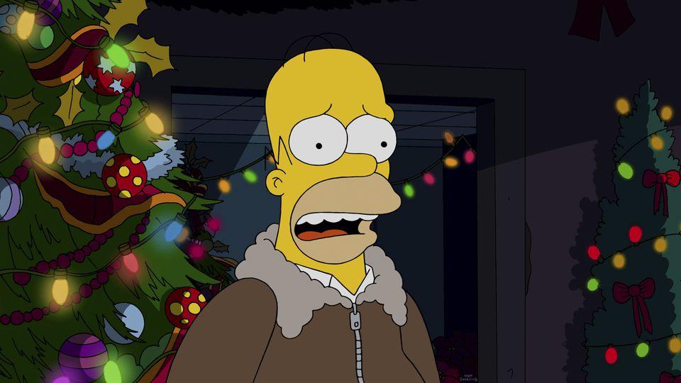 simpson navidad intro