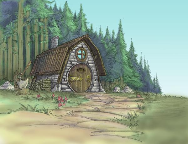 Así imaginaba Nintendo la Cabaña de Hagrid