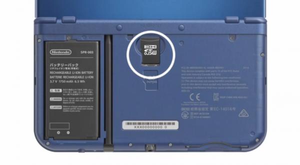 New 3DS XL MicroSD