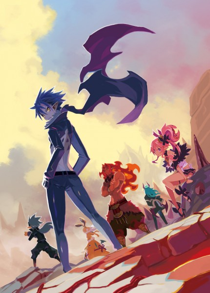Disgaea 5 artwork 01