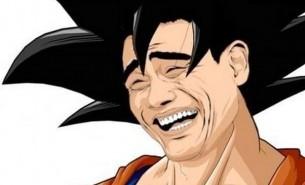 Goku a la Yao Ming (Me la suda)