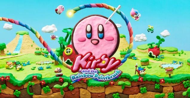 Kirby Pincel Arcoiris arte
