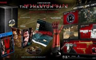 Metal Gear Solid V Phantom Pain coleccionista