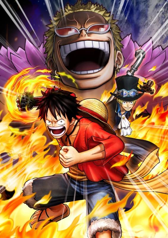 One Piece Pirate Warriors 3 artwork