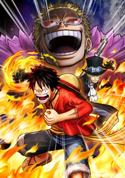 One Piece Pirate Warriors 3 promo art